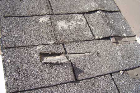Broken Shingles Roofing Problems